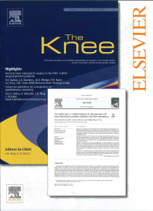 The Knee(表紙)
